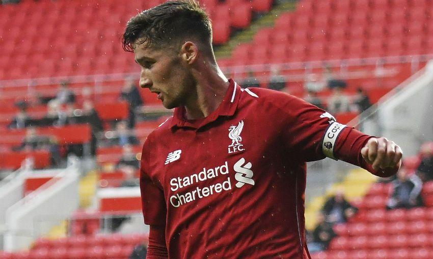 Liverpool FC Academy defender Corey Whelan