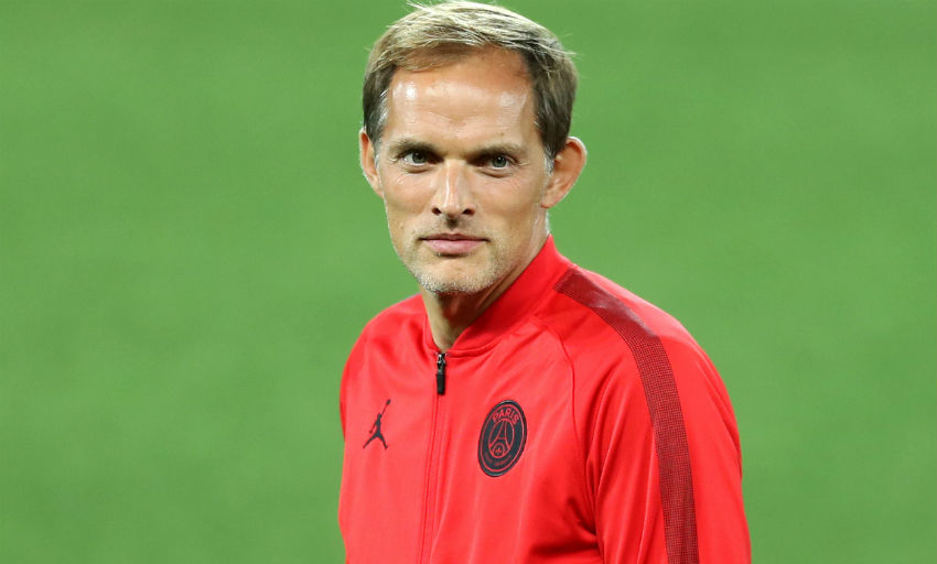a6fd1a7f1 Paris Saint-Germain boss Thomas Tuchel held a press conference after  arriving on Merseyside on Monday - and he was full of respect for Liverpool  and the ...