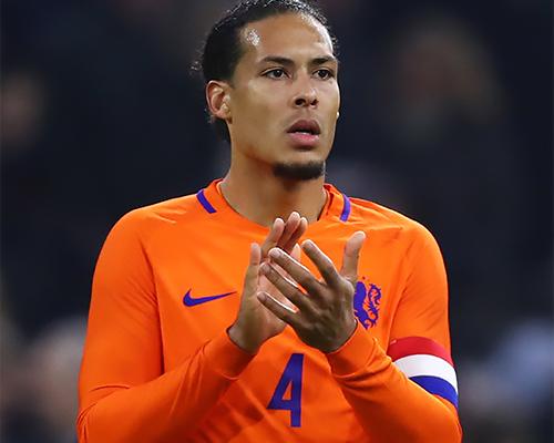 Liverpool defender Virgil van Dijk captains Netherlands