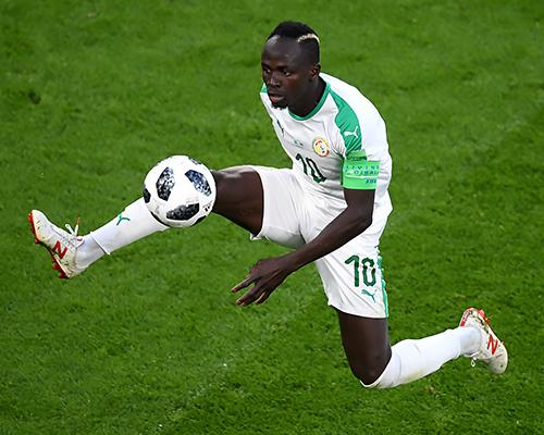 Liverpool forward Sadio Mane captains Senegal at the World Cup
