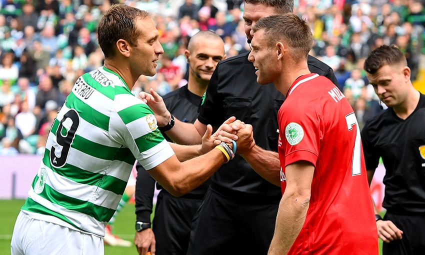 milner and petrov xis draw 3 3 in match for cancer liverpool fc