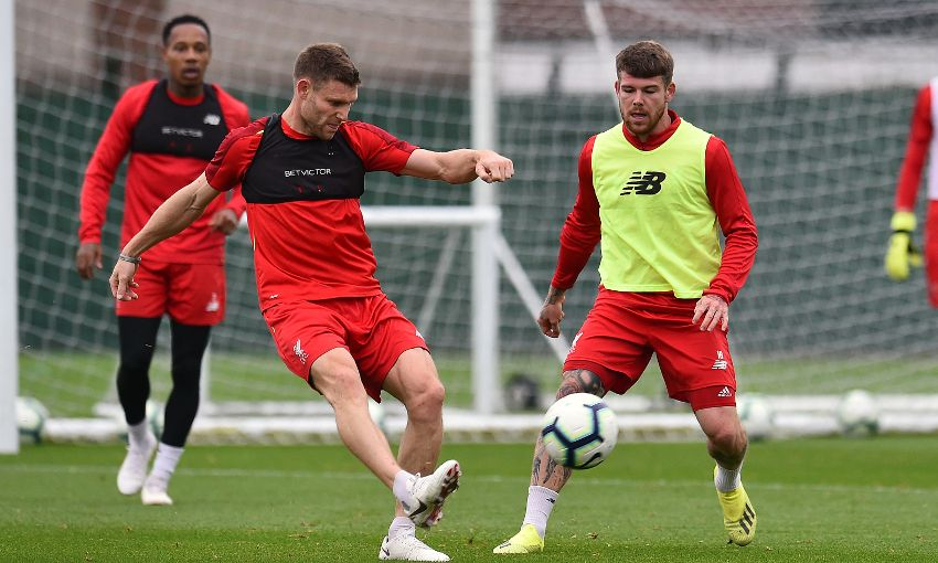 Liverpool train at Melwood, September 10, 2018