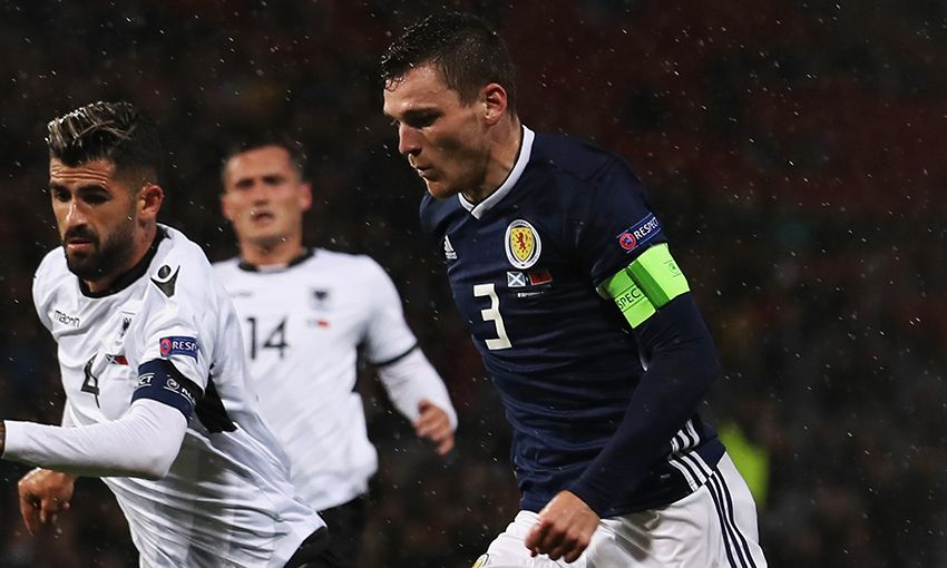 Liverpool's Andy Roberston captains Scotland