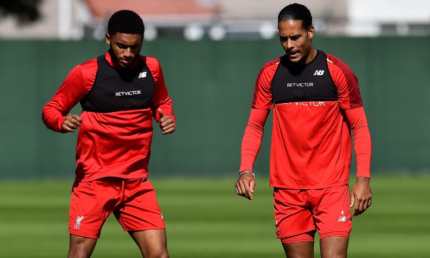 Liverpool train at Melwood on September 13