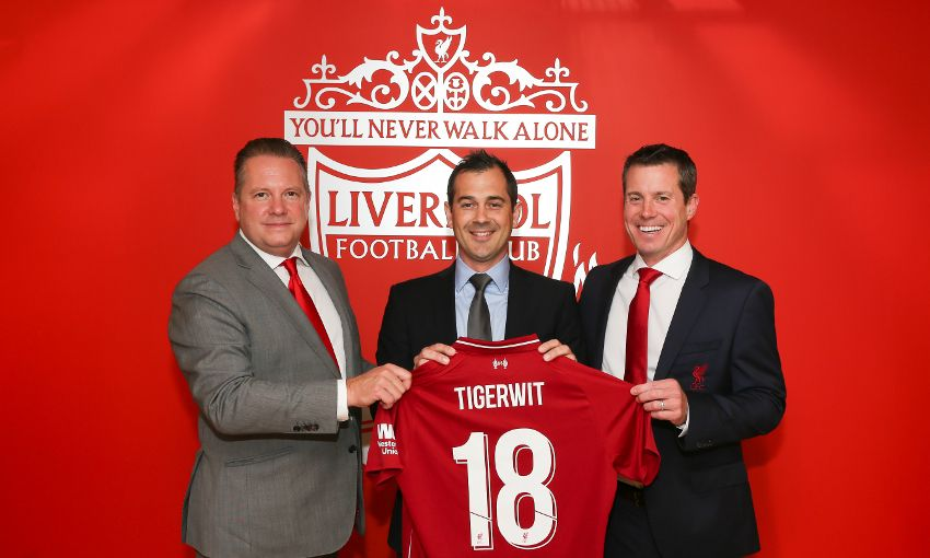 Liverpool FC launches partnership with TigerWit