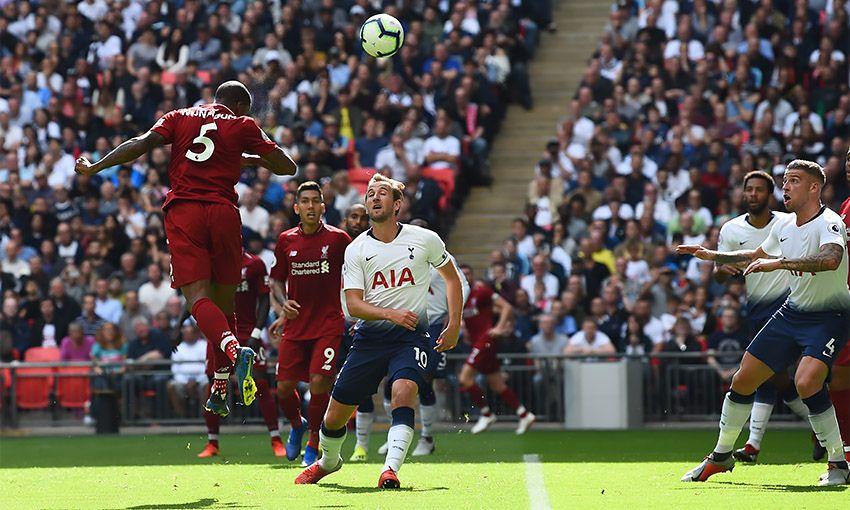 Tottenham Hotspur versus Liverpool