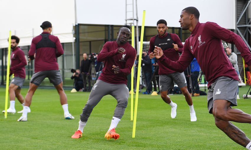 Gallery Reds Prepare For Champions League Clash With Psg Liverpool Fc