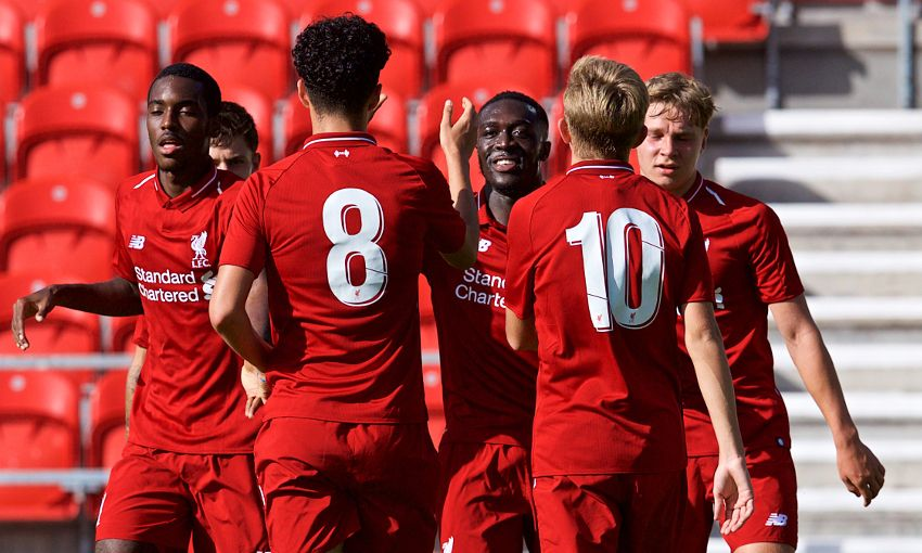 Liverpool U19s v PSG U19s