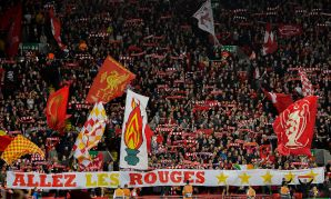 Fans at Anfield