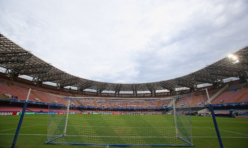 General view of Stadio San Paolo