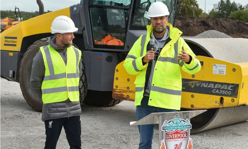 Work Starts At Liverpool Fc S New Training Complex