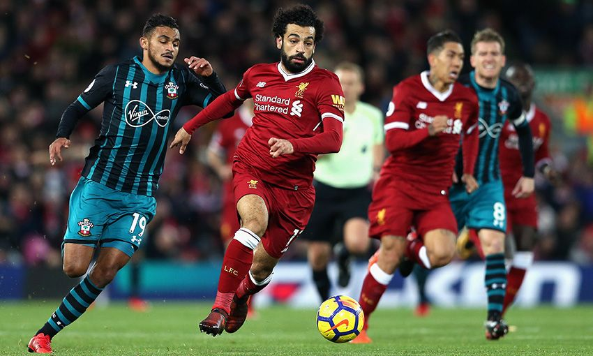 Liverpool versus Southampton