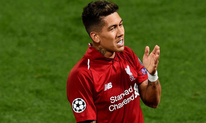 Roberto Firmino of Liverpool FC