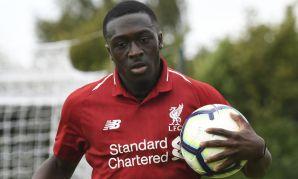 Liverpool Academy forward Bobby Adekanye