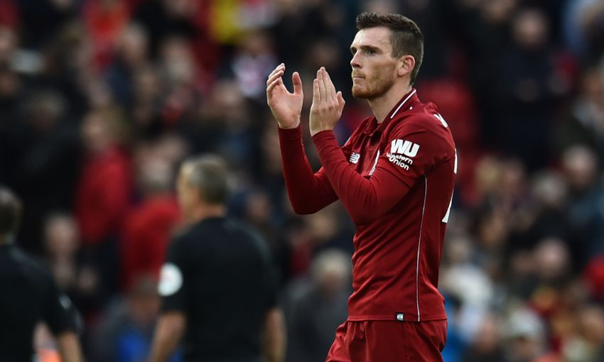 James Milner set to Replace Andy Robertson in Champions