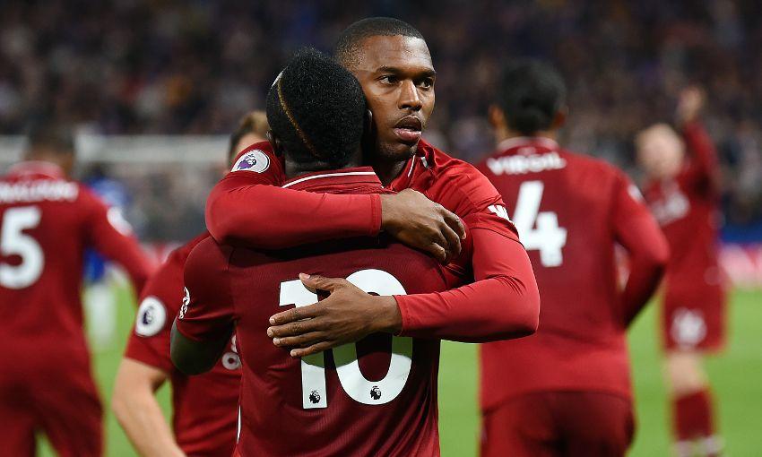 Liverpool's Daniel Sturridge scores