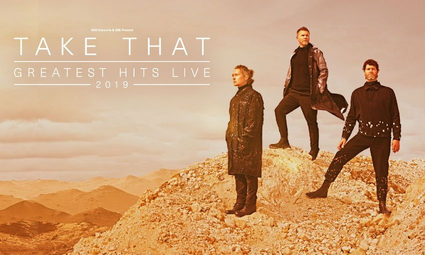 Pop group Take That, who are to perform at Anfield in June 2019