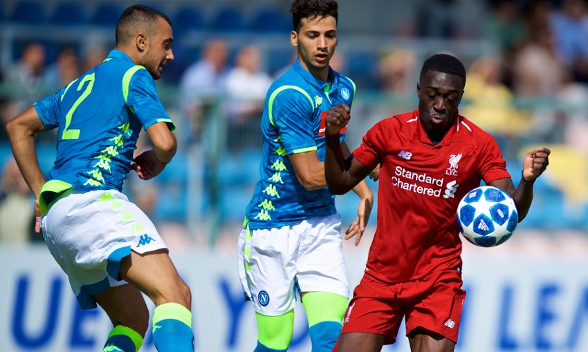 Napoli U19s v Liverpool U19s
