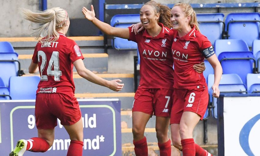 LIVERPOOL FC WOMEN V YEOVIL