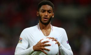 Joe Gomez of Liverpool FC and England