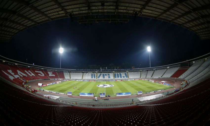 Red Star Belgrade's Rajko Mitic Stadium