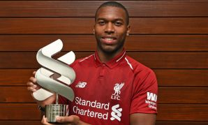 Daniel Sturridge, LIverpool FC's Standard Chartered Player of the Month, September 2018