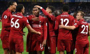 Daniel Sturridge celebrates scoring for Liverpool Fc v Chelsea FC
