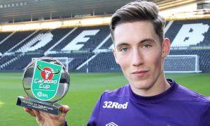 Harry Wilson wins Carabao Cup award