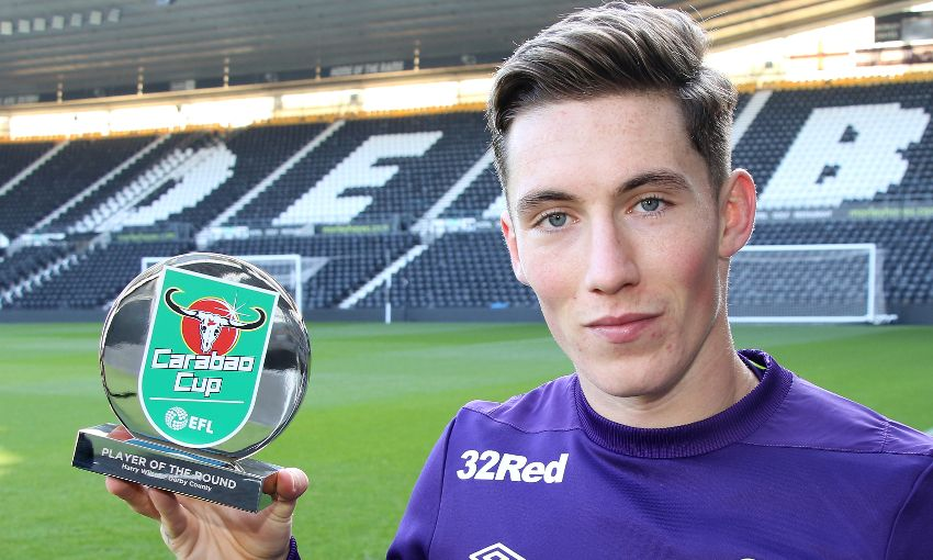 Harry Wilson wins Carabao Cup award