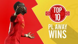 Top 10 Premier League away wins