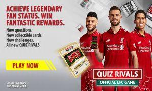 LFC's Quiz Rivals app