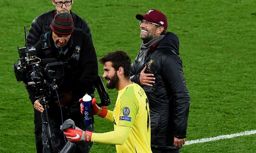 Liverpool manager Jürgen Klopp celebrates a win