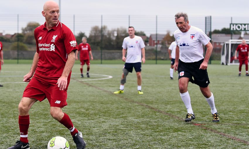 Red Neighbours welcome England walking football team to ...