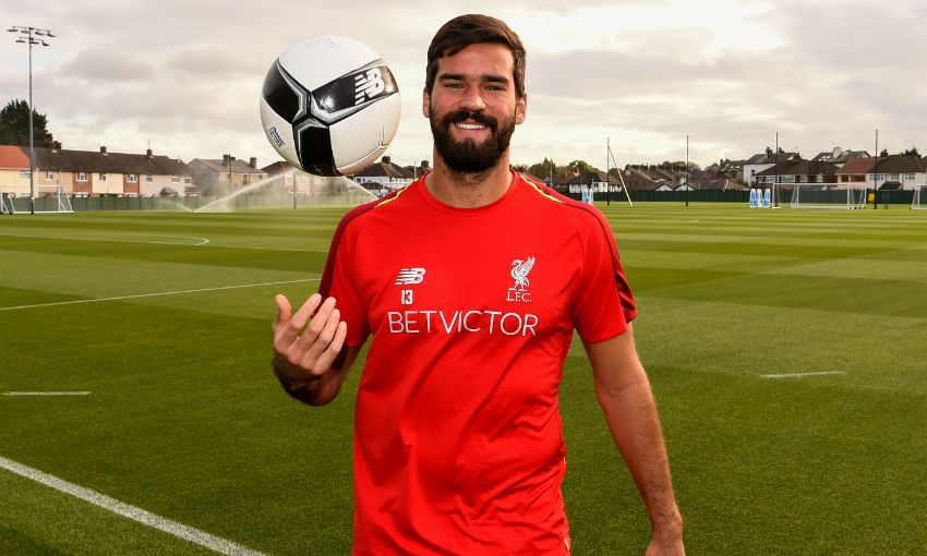 Alisson Becker, Liverpool FC and Brazil goalkeeper