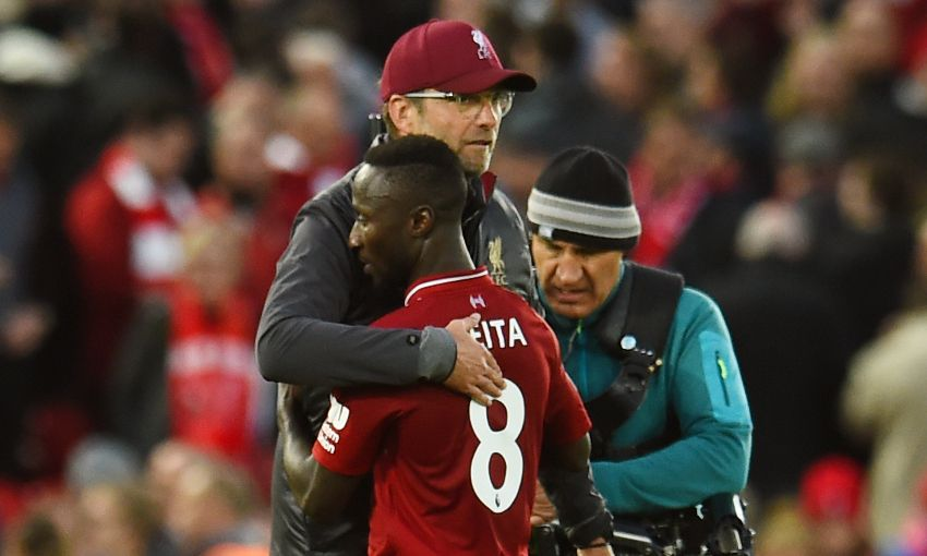 Naby Keita: It's special to work with Klopp - Liverpool FC