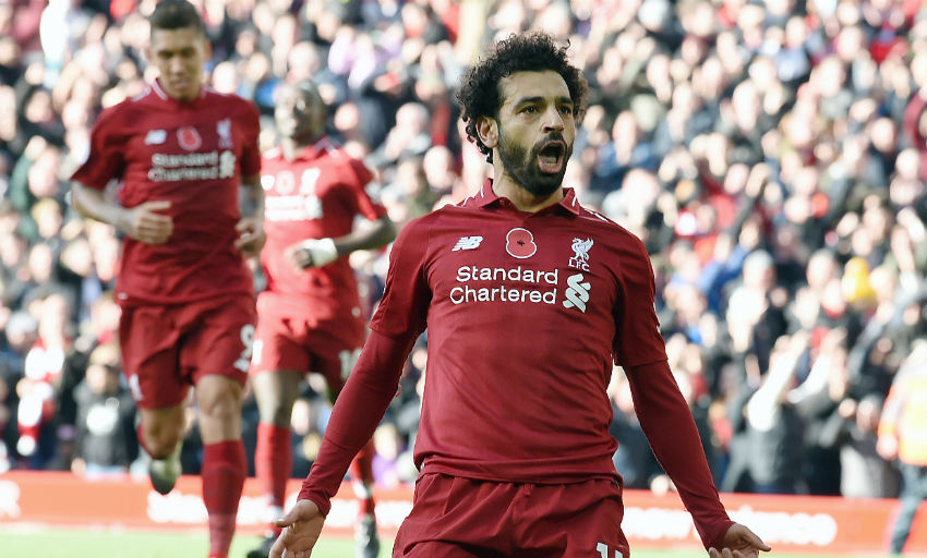 Salah and Shaqiri see Liverpool sweep aside strugglers Fulham