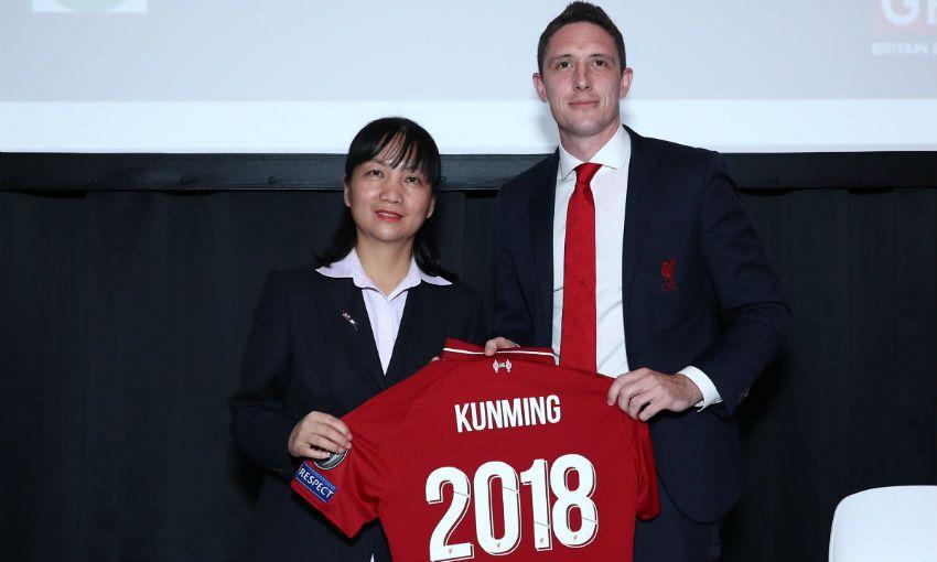 LFC renews Kunming Soccer School
