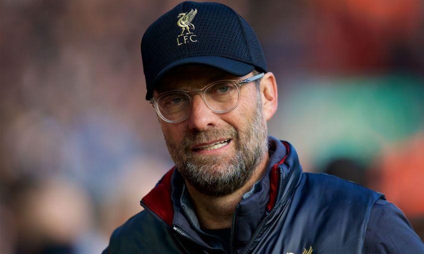 Liverpool FC manager Jürgen Klopp