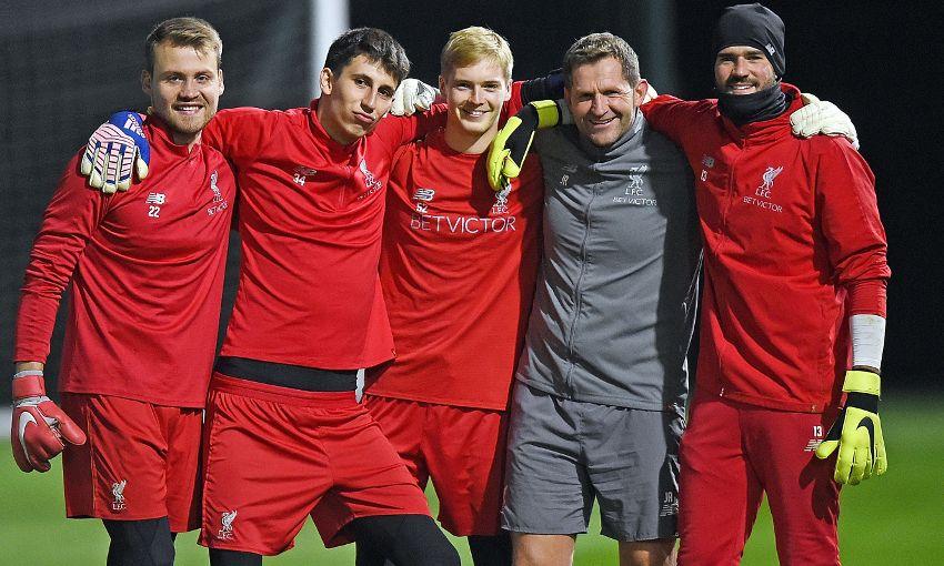 Liverpool goalkeepers
