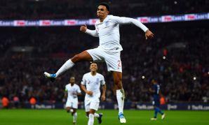 Trent Alexander-Arnold scores for England