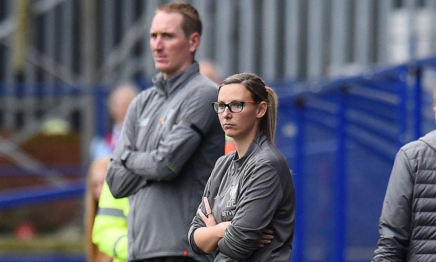 LFC Women manager Vicky Jepson