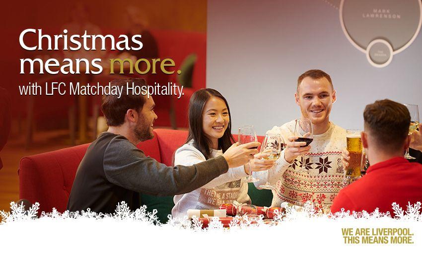 LFC Matchday Hospitality Christmas gift
