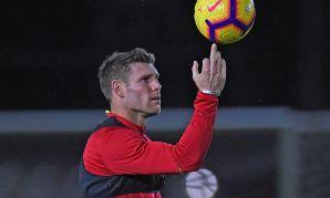 Liverpool training, November 19