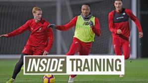 Inside Training, Liverpool FC, November 2018