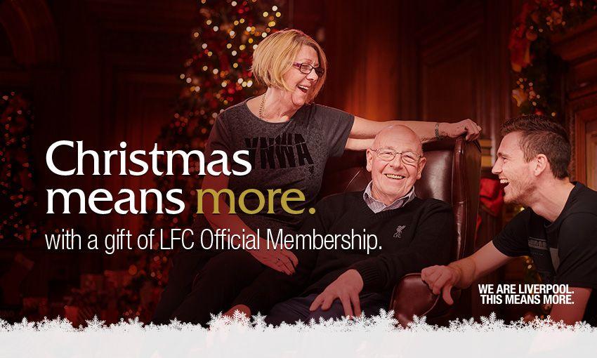 LFC Membership: Christmas 2018 gift