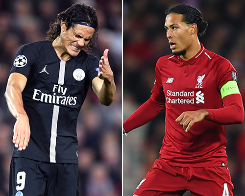PSG v Liverpool: Fireworks charges brought against French champions by Uefa