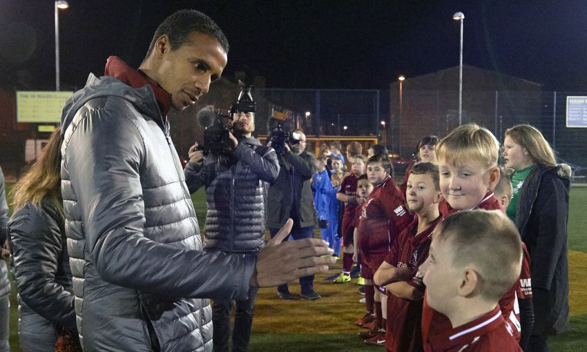 LFC Foundation Joel Matip Appearance