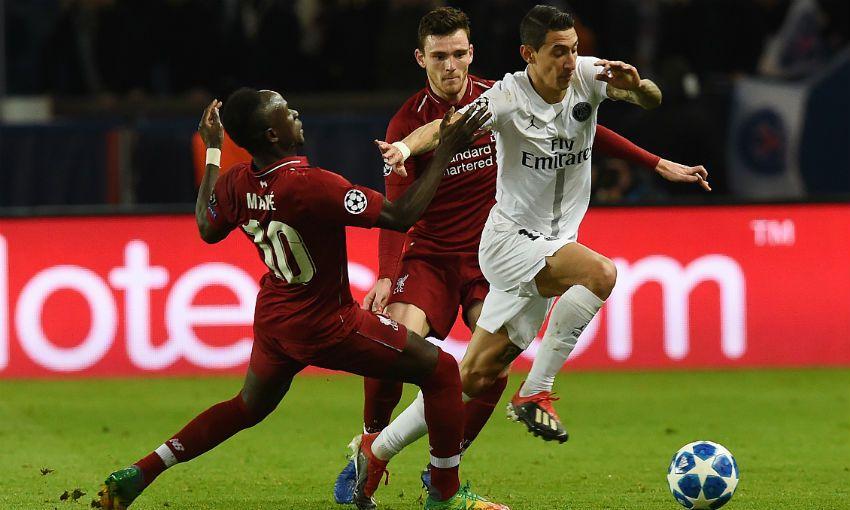 Liverpool v PSG, Champions League, Parc des Princes