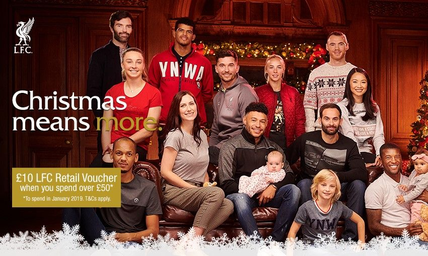 Liverpool FC Retail Christmas voucher