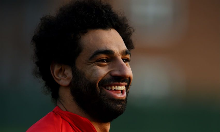 Mohamed Salah of Liverpool FC and Egypt